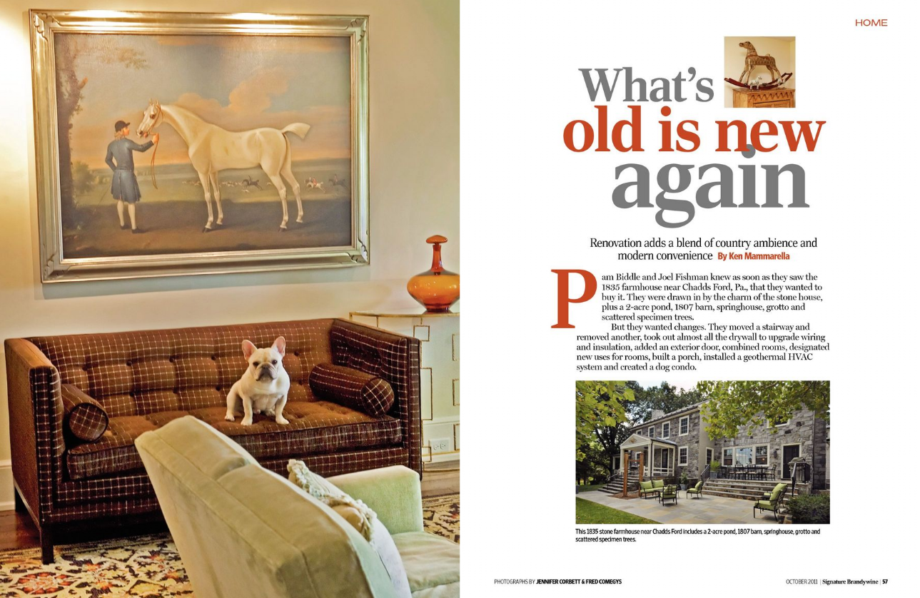 Signature Brandywine Magazine Article - What's Old Is New Again